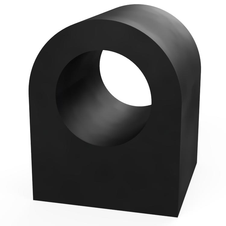 Square D with Round Centre Extrusion