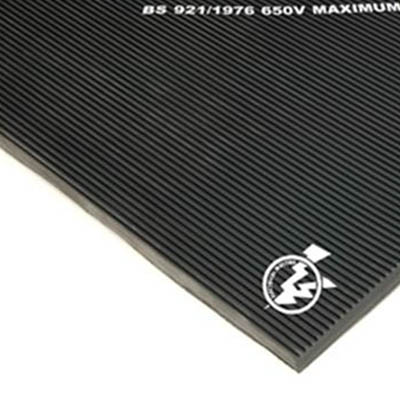Electrical British Standard Fine Ribbed 15Kv Matting