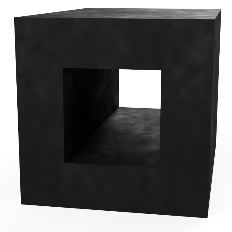 Square with Square Centre Extrusion