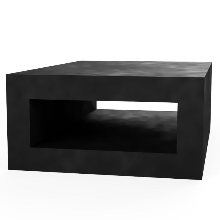 Rectangle with Rectangle Centre Extrusion