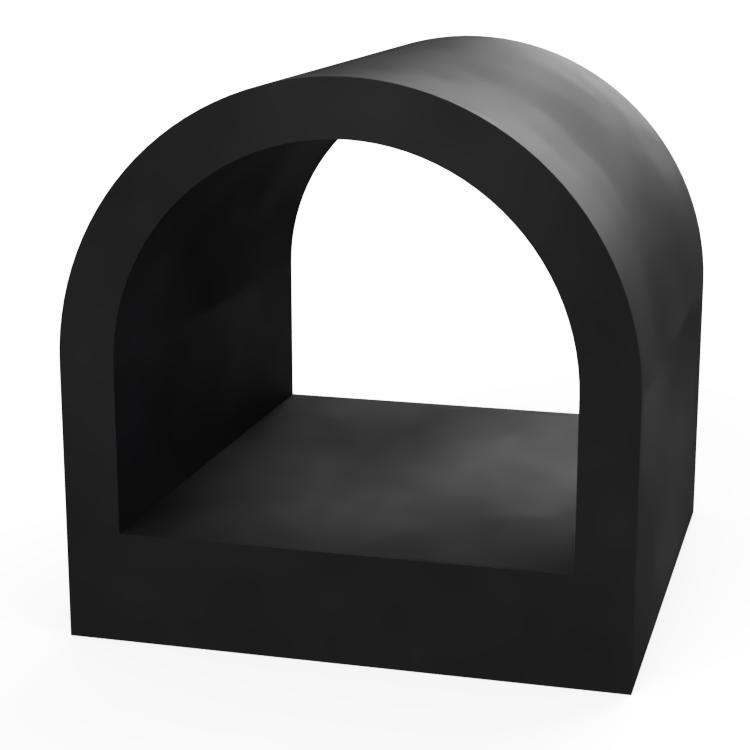 Square D with D Centre Extrusion