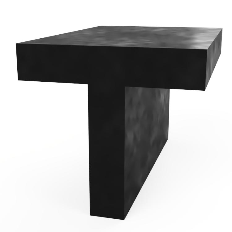 T Section Extrusion
