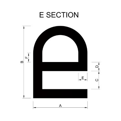 E Section Extrusion