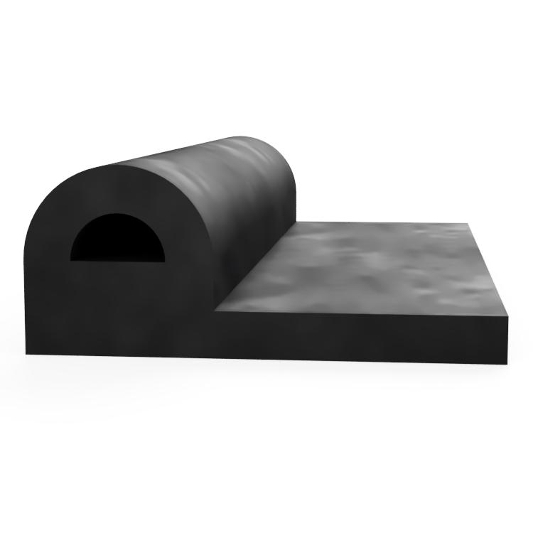 P with Round D Centre Extrusion